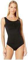 Yummie Luna Bodysuit w/ Removable Pads (Black) Women's Jumpsuit & Rompers One Piece