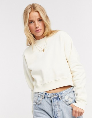 Fiorucci new angels sweatshirt in white