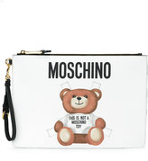 Moschino Toy bear clutch - women - Polyurethane - One Size