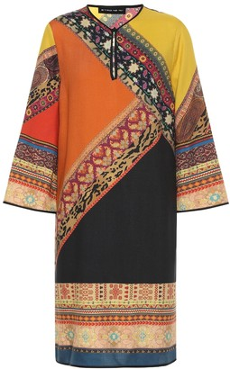Etro Wool and silk tunic dress