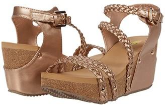 Volatile Caylinn (Black) Women's Wedge Shoes
