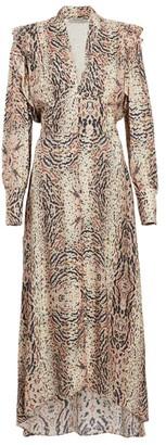 AllSaints Lia Midi Dress