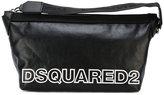 DSQUARED2 two-tone logo wash bag - men - Cotton/Polyamide - One Size