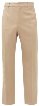 BEIGE Deveaux - Wide-leg Technical-twill Trousers - Mens