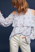 Maeve Ariel Open-Shoulder Top