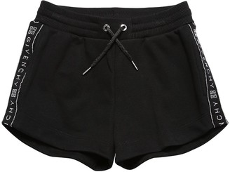 Givenchy Cotton Sweat Shorts W/ Logo Side Bands