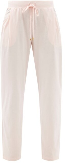 Thumbnail for your product : Hanro Sleep & Lounge Cotton-blend Jersey Trousers - Light Pink