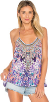 Camilla T Back Shoestring Tank in Purple. - size XS (also in )
