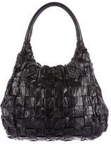 Devi Kroell Textured Leather Hobo