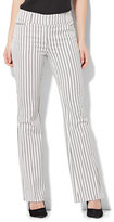 New York & Co. 7th Avenue Pant - Bootcut - Modern - Stripe