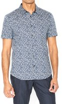 John Varvatos Men's Short Sleeve Shirt - Ash
