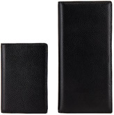 The Daily Edited the daily edited Black Pebbled Travel Wallet