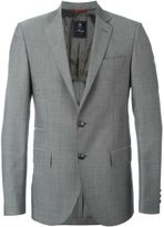 Fay classic buttoned blazer - men - Viscose/Virgin Wool - 52