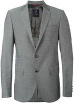 Fay classic buttoned blazer - men - Viscose/Virgin Wool - 54