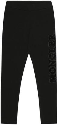 Moncler Enfant Logo stretch-jersey trackpants