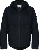 Stone Island zip front panelled jacket