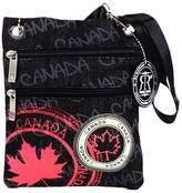 Robin Ruth Canada Robin Ruth - Canada Stamp Denim Neck Wallet