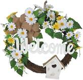 "Celebrate Easter Together ""Welcome"" Artificial Flower Wreath"