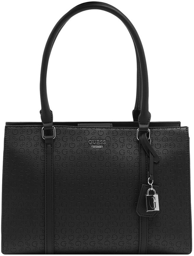 GUESS SE766107BLA Romina Double Handle Satchel