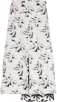 Marni Tropical Jacquard Floral Skirt