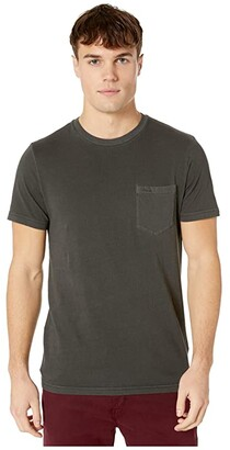 RVCA PTC Pigment Short Sleeve (Pirate Black 1) Men's Clothing