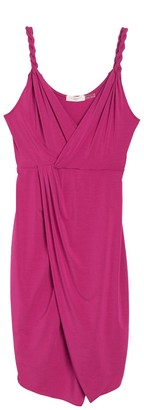Ramy Brook Geniveve Sleeveless Faux Wrap Dress