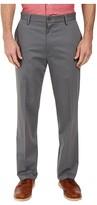 Dockers Signature Khaki D3 Classic Fit Flat Front (Burma Grey Stretch) Men's Casual Pants