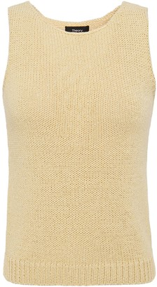 Theory Cotton-blend Top