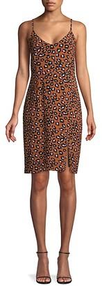 Sanctuary Leopard-Print Slip Dress
