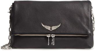 Zadig & Voltaire Rocky Leather Shoulder Bag
