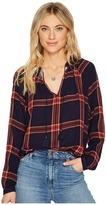 Lucky Brand Plaid Shirt Women's Clothing