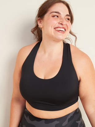 Old Navy Medium Support Powersoft Bonded-Strap Plus-Size Sports Bra