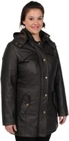 Excelled Women's Excelled Nappa Leather Anorak Parka