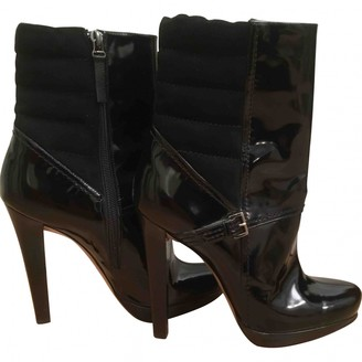 Diego Dolcini Black Patent leather Ankle boots