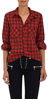 NSF Women's Kimberly Cotton Plaid Button-Front Shirt