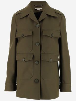 Stella McCartney Military Button-Up Jacket