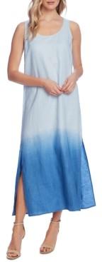 Vince Camuto Linen Dip-Dyed Tank Dress