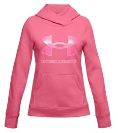 Under Armour Big Girls Rival Fleece Logo Hoodie