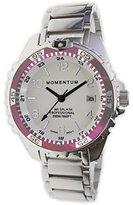 Momentum Women's Quartz Stainless Steel Diving Watch, Color:Silver-Toned (Model: 1M-DN11LR0)