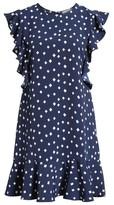 Vineyard Vines Women's Diamond Print A-Line Flounce Dress