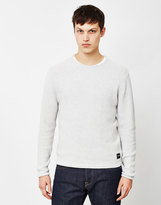 ONLY & SONS Dan Knitted Crew Neck Jumper Grey