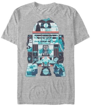 Star Wars Men's Classic R2-D2 Behind The Scenes Short Sleeve T-Shirt