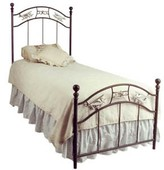 The Well Appointed House Child's Wrought Iron Airplane Bed