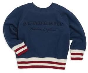 Burberry Little Boy's& Boy's Logo Sweatshirt - Canvas Blue - Size 10