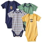 GE Gerber Onesies® Newborn Boys' 4 pack Sports - Blue