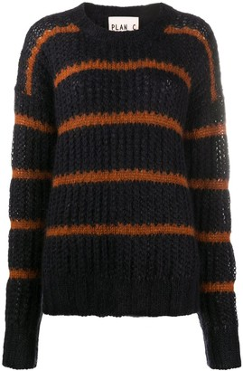 Plan C Chunky Striped Jumper