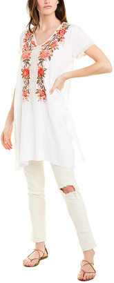 Johnny Was Linen Tunic Dress