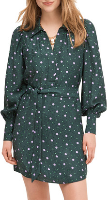 Kate Spade pop dots fluid shirtdress