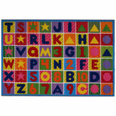Asstd National Brand Numbers & Letters Rectangular Rugs