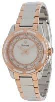 Bulova Ladies Diamonds - 98P134 Analog Watches